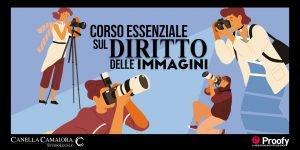 locandina evento diritto delle immagini